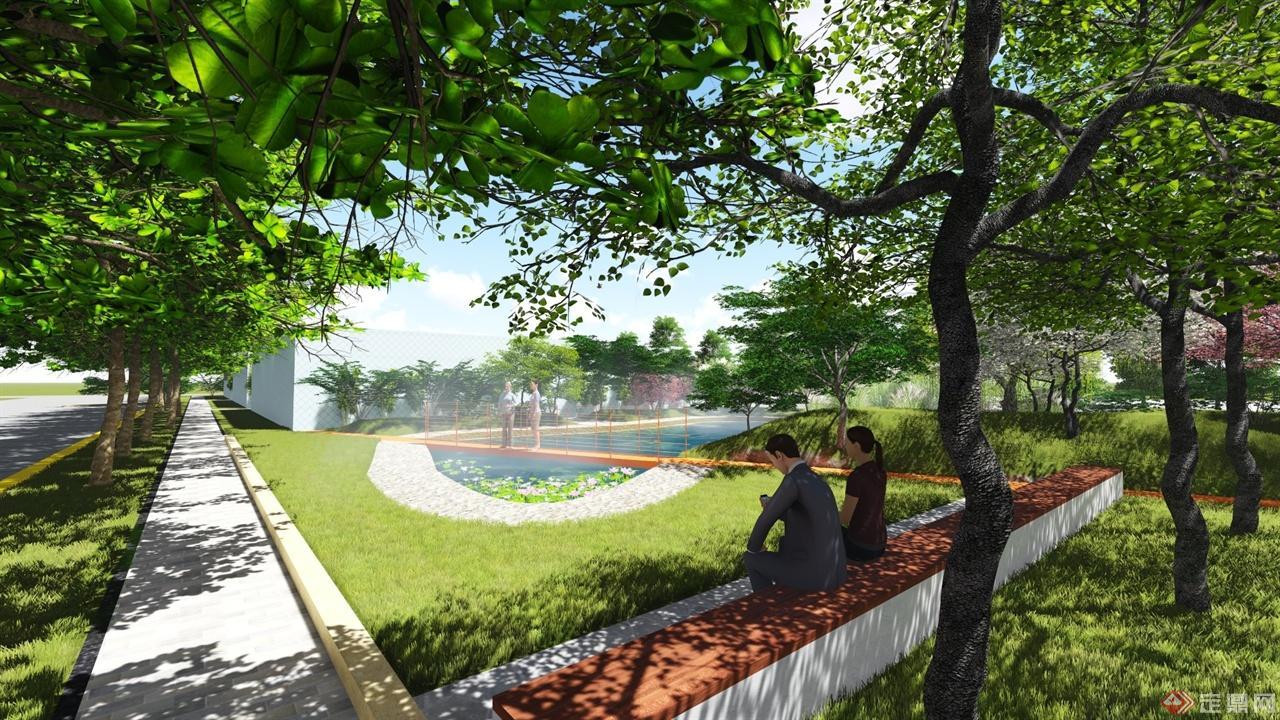 jiachen-center landscape design p view07