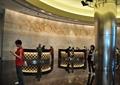 酒店,前台,柱体装饰,背景墙