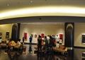 展览室,展示品,沙发,柱体装饰