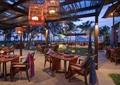 酒店,户外餐厅,餐桌椅,吊灯