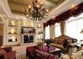 别墅,可提供,壁炉,沙发,茶几,吊灯,背景墙