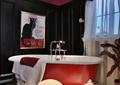 浴室,浴缸,装饰品