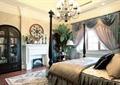 卧室,床,储物柜,装饰台,吊灯