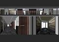 会所,电梯间,走廊,过道