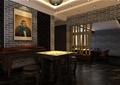 会所,休息室,桌凳,隔断,古筝