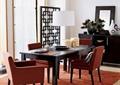 餐厅,餐桌椅,吊灯,餐具