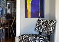 客厅,单人沙发,装饰画,餐厅