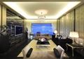 客厅,沙发,茶几,电视墙,电视,边几,吊灯,台灯