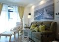 客厅,沙发,茶几,吊扇,吊灯,坐垫