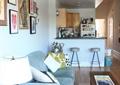 客厅,沙发,茶几,吧台,椅子,背景墙