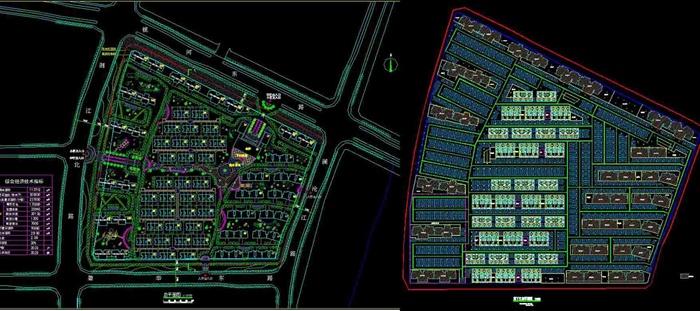 某小区规划建筑方案设计(含文本+cad平面图)(6)