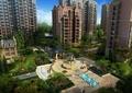 住宅景观,广场,小品,喷泉,植物,凉亭