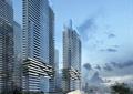 商务中心,高层商住楼,会所,商业环境