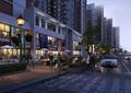 商業街,街道,街道景觀,道路,樹池,坐凳,燈具