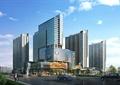 商业中心,商业综合体,商场,高层商务