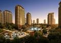 住宅景观,高层住宅,水景,凉亭,户外泳池