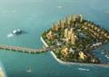 滨海社区,小区规划,住宅景观,海岛
