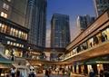 商场,商住楼,中庭,建筑设计