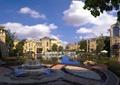 喷泉,水池,水景,别墅区,别墅区景观