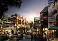商業街,商業建筑,商業街景觀,商業樓