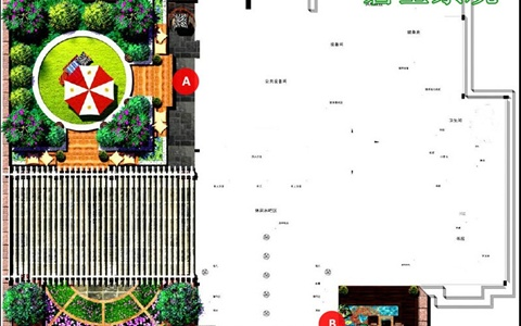 九锦台屋顶花园景观设计