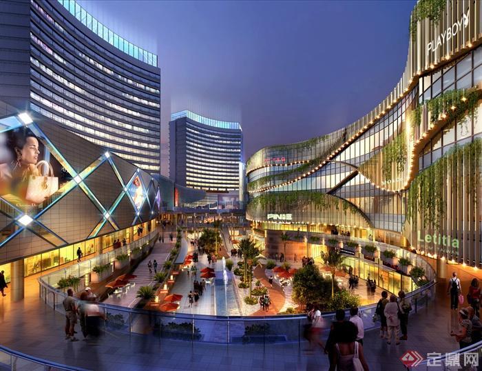 购物中心,商场,商业建筑,商业环境