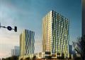 商业综合体,高层商务,商业中心,商业建筑,道路