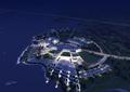 生态酒店,商业建筑,滨水酒店