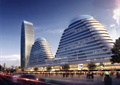 商务区,商业楼,商业建筑,综合建筑,商业街景观