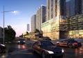 商住房,道路,汽车