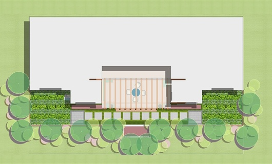 首层小庭院设计