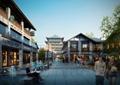 古镇,商业街,商业建筑,商业街景观