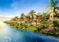 别墅,别墅建筑,别墅景观,滨水别墅
