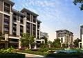 住宅楼,住宅建筑,住宅景观,水池