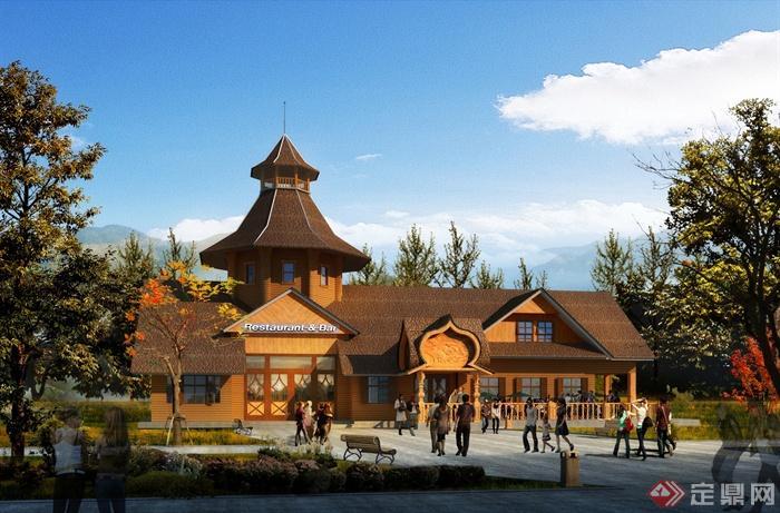 餐厅,餐馆,餐饮建筑,餐厅景观