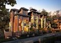 别墅,住宅建筑,围墙,住宅景观