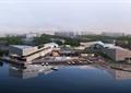 集散中心,办公楼,办公建筑,滨水景观