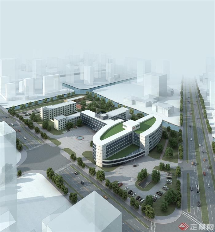 医院,医院规划,医院建筑,医院景观