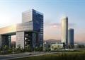 办公建筑,综合建筑,道路景观