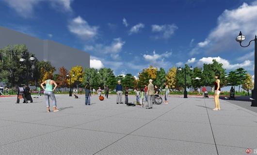 某广场创意规划设计