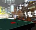 俱乐部,台球桌,吊灯
