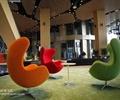 办公大厅,桌椅,单人沙发