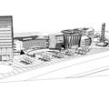 商业综合中心,综合建筑,商业建筑