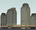 商业综合体,商业建筑,高层办公