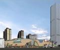 商业中心,商业综合体,高层办公,商业建筑