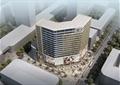 商业综合体,商业中心,高层办公,综合建筑