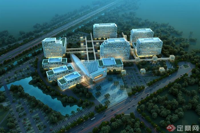 医院,医院建筑,医院规划,医院景观