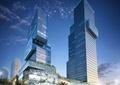 办公楼,办公建筑,商业综合体,街道环境