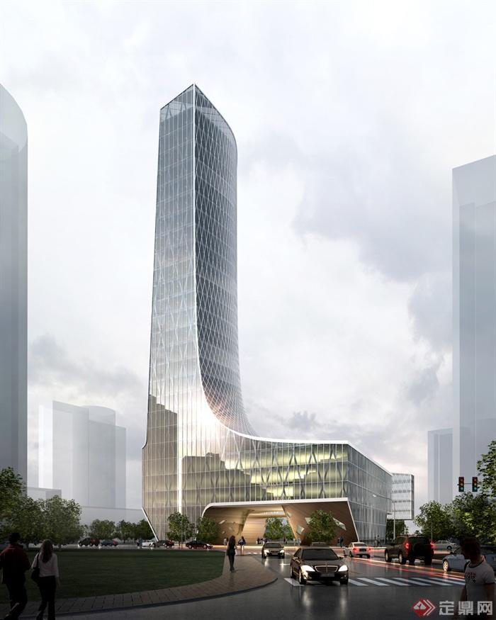 旅游服务中心,集散中心,办公楼,办公建筑