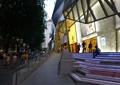 商业中心,商业建筑,台阶,残疾人坡道